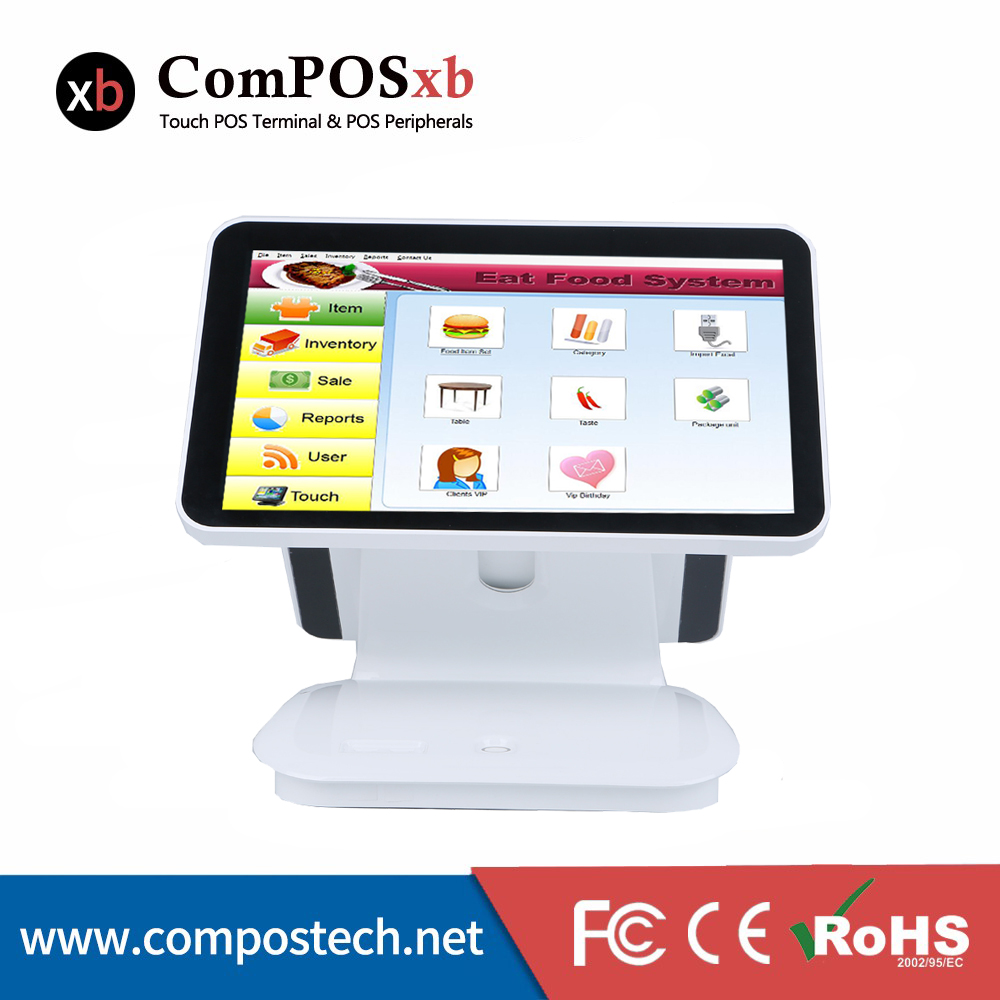 15 . 6inch cash register / pos system / Epos All In One Pos Capacitive Touch Screen ...