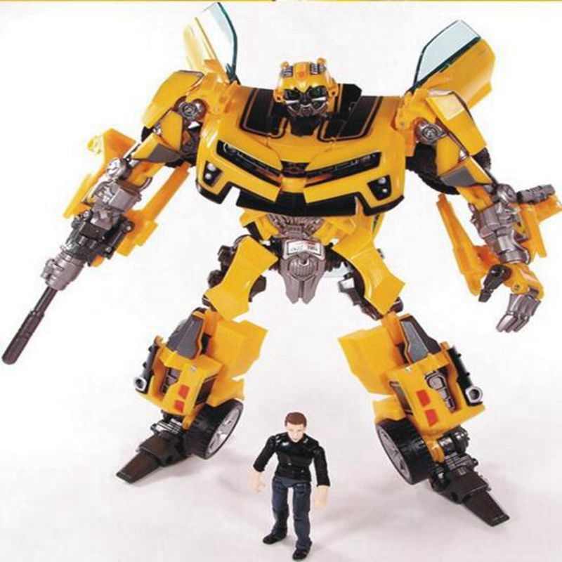 anime 18CM Transformation Robot Sam Action Figures Toys yellow Car Sam Robots Brinquedos Classic juguetes kids toys high quality 6pcs set disney toys for kids birthday xmas gift cartoon action figures frozen anime fashion figures juguetes anime models