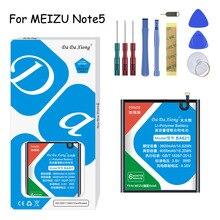 Original Da Da Xiong  Battery BT42C/BT61/BA621 For Meizu Meilan M2 Note 2/ M3 Note 3/M5  Note 5 Replacement Battery + Free Tools phone parts 100% new meizu m2 note touch screen outer glass screen for meilan m2 note 5 5 inch m2 mini 5 0 inch