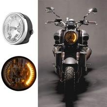 """8 """"de La Motocicleta Faros LED de la Luz Delantera Del Faro Cabeza A Prueba de agua/Luz de Niebla/Luz Láser Para La Motocicleta"""