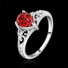 Estilo fino verano platea los anillos plateados joyería artificial anillos de boda para las mujeres SR523 925-sterling-silver