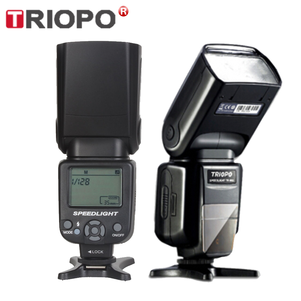 TRIOPO TR-960 II Flash Speedlite Speed Light Manual Zoom Speedlite Flash Light For Nikon Canon Pentax SLR Camera Flash Speedlite