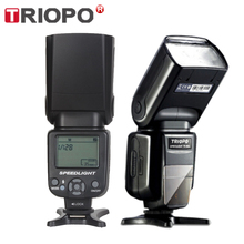 Flash speedlite triopo TR 960 ii, velocidade, zoom manual, speedlite, para nikon, canon, pentax, slr