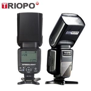 Image 1 - TRIOPO TR 960 II Flash Speedlite Speed Light Zoom Manual Speedlite Flash Light para Nikon Canon Pentax SLR Camera Flash Speedlite