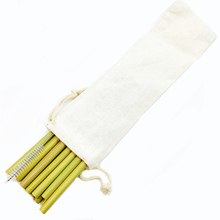 Reusable Natural Bamboo Drinking Straws Biodegradable Straw Pack Alternative to Plastic Zero Waste Assorted