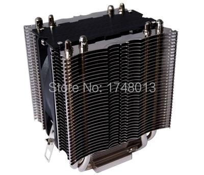 90mm fan 4 heatpipe copper dual tower CPU fan CPU cooler LGA 775 1150 1155 1156
