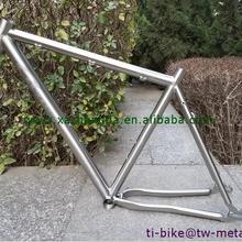 Titanium дороги велосипеда с раздвижными отсева, горячая Распродажа титановая велосипедная Рама с 700C колеса, заводского Ti дороге рама пользовательские
