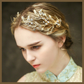 luxury vintage gold crystal hairpins wedding accessories bridal party jewelry handmade rhinestone hair pins clips 688