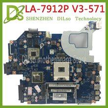 KEFU LA-7912P Motherboard fit Für ACER Aspire E1-571G V3-571G V3-571 Motherboard Q5WVH LA-7912P HM77 GT630M original-Test