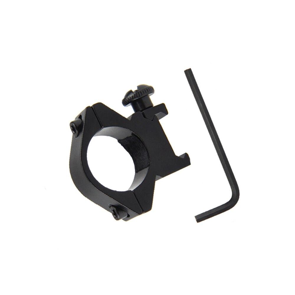 Тактический 25 мм кольцо смещение 20 мм Рельс Пикатинни фонарик/прицел крепление ружье винтовка