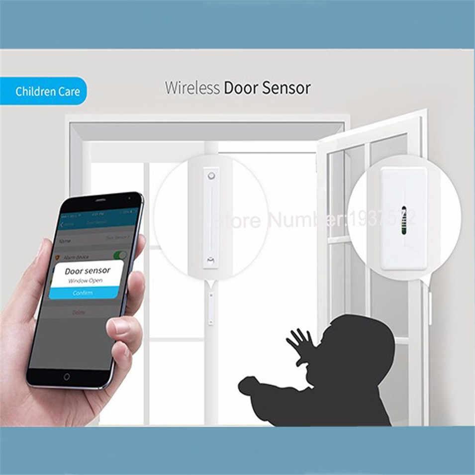 New Arrival Broadlink S1/S1C SmartOne Alarm & An Ninh Kit Đối Với Trang Chủ Nhà Thông Minh Hệ Thống Báo Động IOS Android Cửa/Window Sensor RF433
