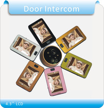 Free shipping 4.3″ LCD Video Door Phone Doorbell Intercom IR Camera Monitor Electric Strike /Video door intercom