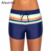 62c35e8d1f Aleumdr Bikini Bottoms Women Boardshort Sport Panties Bathing Lace-up Shorts  Swimwear Swimsuit LC410571 Short