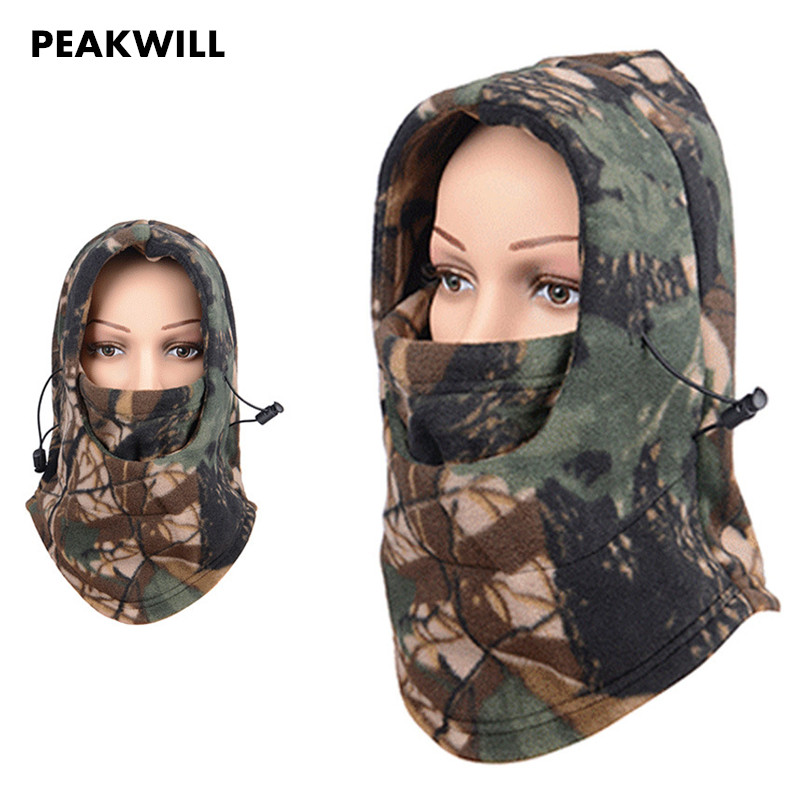 Winter Scarf Full Face Mask Thermal Outdoor Warm Fleece Bandana Windproof Scarf Outdoor Foulard Thermal Face Mask Scarves