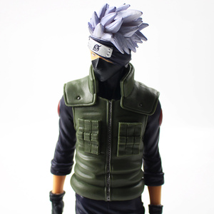 Image 5 - 28cm Anime Naruto Shippuden Grandista Hatake Kakashi Banpresto Shinobi Relations PVC Action Figure Collection Model Toy