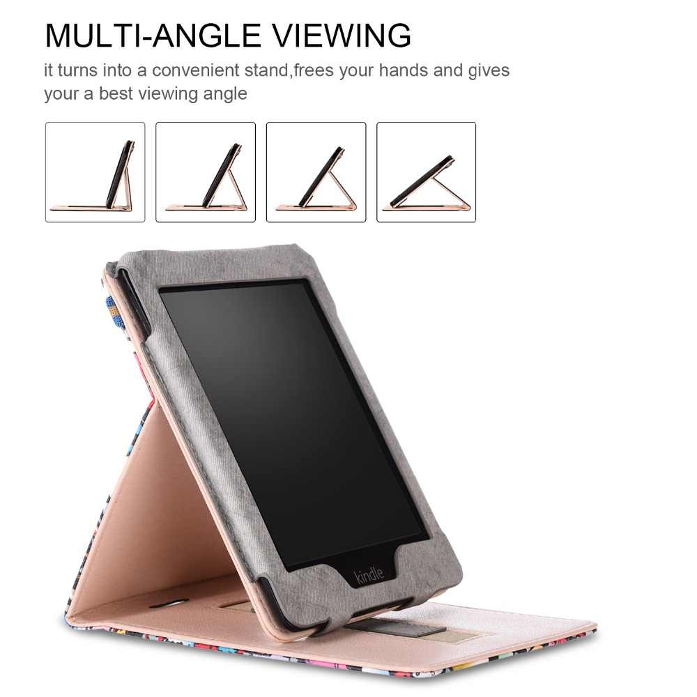 718c4112a ... case for Amazon Kindle Paperwhite 1 2 3 4 2015 2017 PU Leather Smart  Case for ...