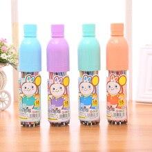 Новый drift бутылки моет мелки имеют 12 18 24 цвета Мыть живопись костюм Дети живопись ручки Студент канцелярские