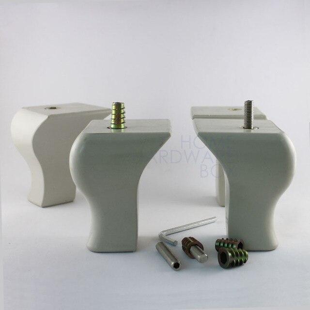 Gedreht Sofa Ottoman Antike Möbel Couch Kunststoff Füße Beine
