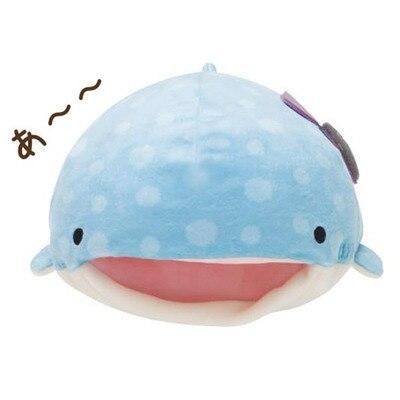 Мягкие игрушки 28/44 см Kawaii Blue Whale, плюшевые игрушки, милые морские животные, Офисная Подушка с ворсом, мягкие игрушки, детские праздничные пода...