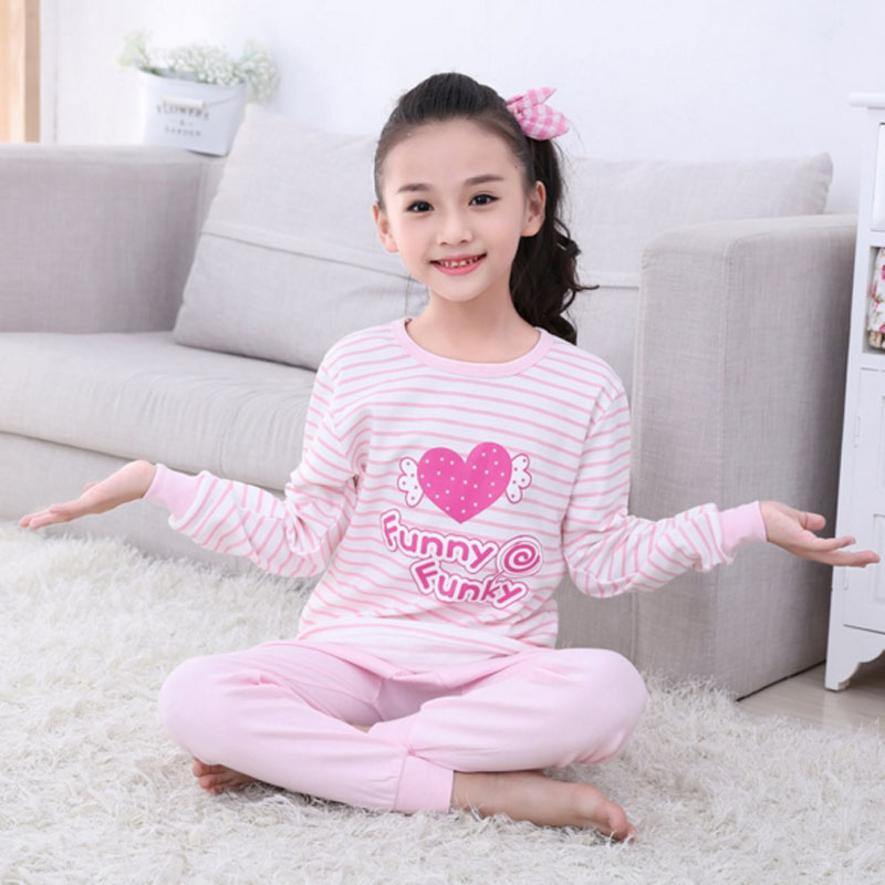 Children Cosplay Clothes Kids Clothing Set Boys Girls Pajamas Sets Home Wear Soft Cartoon Pajamas Sleepwear Toddler Baby Pyjama