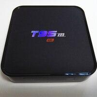 Android 5.1 TV Box Quad Core Amlogic S905 T95M 64bit UHD 2 K * 4 K Media Player HDMI mediów odtwarzacz