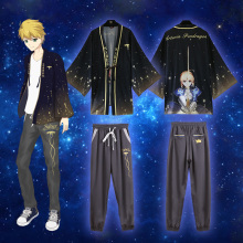 Fate/stay night Altria Pendragon Chiffon Pajamas Cloaks Fate Zero Cosplay Costumes