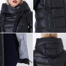 Winter Women's Hooded Warm Fluff Parka Jacket