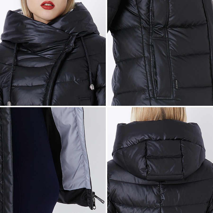 MIEGOFCE 2019 Mantel Jacke Winter frauen Mit Kapuze Warme Parkas Bio Flusen Parka Mantel Hight Qualität Weibliche Neue Winter Sammlung heißer