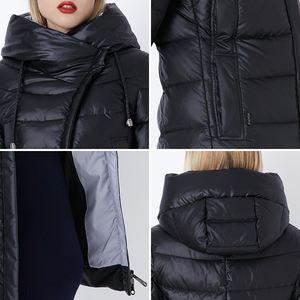 Image 5 - Miegofce 2020 Jas Winter Vrouwen Hooded Warme Parka Bio Pluis Parka Jas Hight Kwaliteit Vrouwelijke Nieuwe Winter Collectie hot