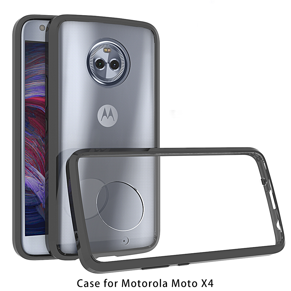 For <font><b>Motorola</b></font> <font><b>Moto</b></font> X4 Case TPU Bumper Clear Hard Plastic Back Case Cover For <font><b>Motorola</b></font> <font><b>Moto</b></font> X4 <font><b>XT1900</b></font> Capas MotoX4 X 4 Case 5.5