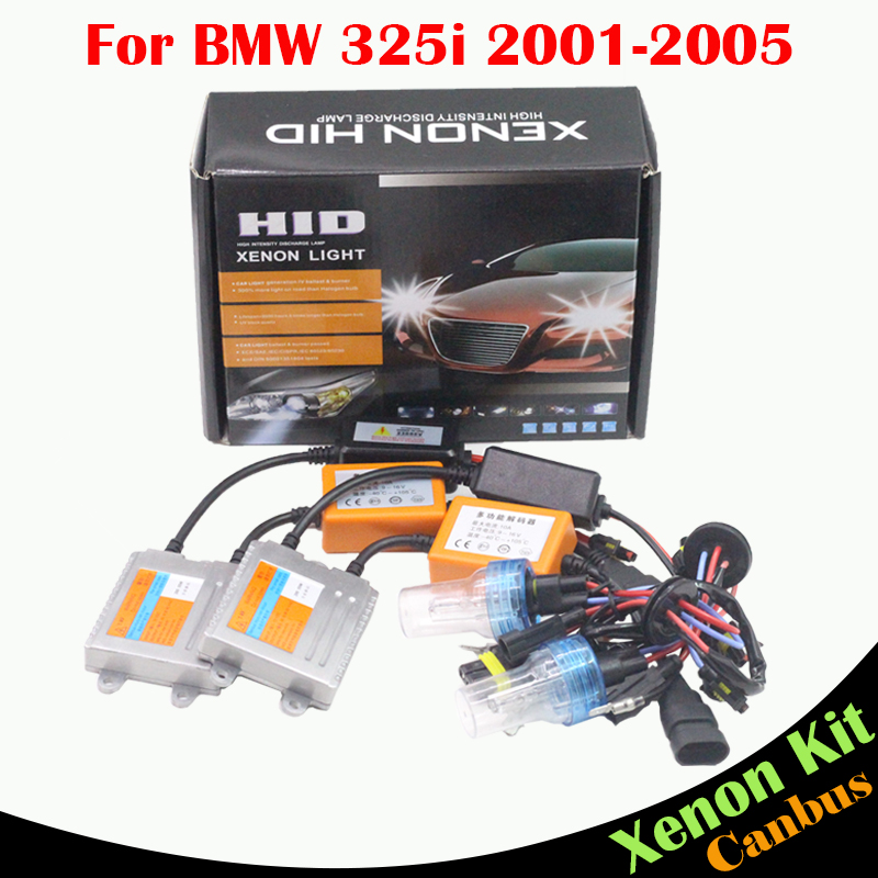Cawanerl 55W H7 Car No Error Ballast Bulb HID Xenon Kit AC 3000K-8000K Auto Light Headlight Low Beam For BMW 325i 2001-2005 боди modis modis mo044ebtjd42