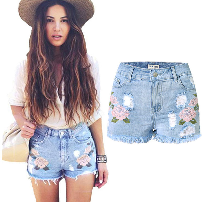 Popular Ripped Jeans Shorts-Buy Cheap Ripped Jeans Shorts lots