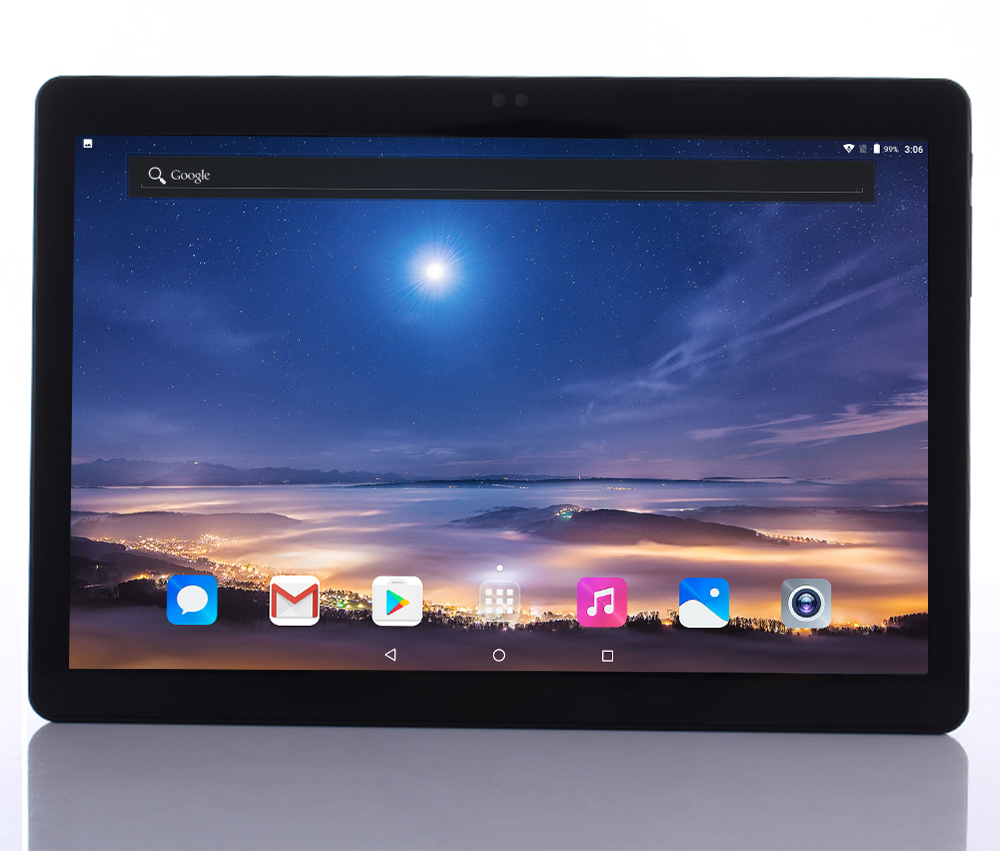 Newest Android 7.0 Deca Core 10'' Tablet PC 4GB RAM 64GB ROM inch 1920X1200 8MP 6000mAh WIFI GPS 4G  2.5D Glass touch screen(China)