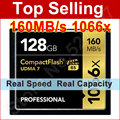 160 МБ/с. Марка 1066x128 GB CompactFlash Карты Памяти CF Для Canon Nikon DSLR Камеры HD Видеокамера 1080 P 3D 4 К DV Видео DV Устройство