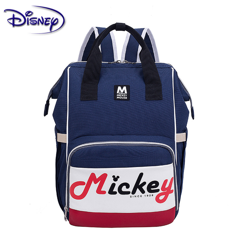 Disney New Mickey Mommy Bag Trend Backpack Picnic Out Practical Multi-function Mummy Bag Fashion