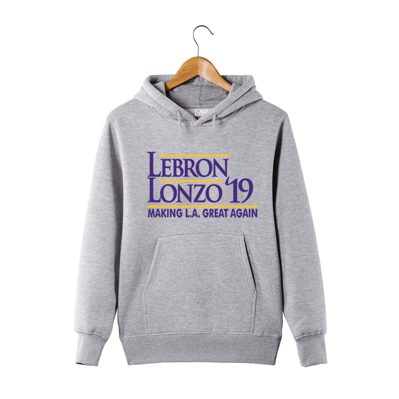sale retailer 02563 5a05a New Arrival LeBron Hoodie LeBron Lonzo Make Los Angeles ...