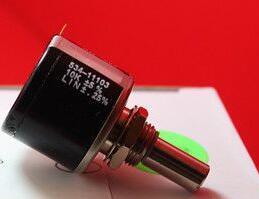 100% оригинал, модульный 534 RES 1K 2K 5K 10K 20K 50K 500K, мультиповоротный потенциометр с проволочной обмоткой, соединитель для Vishay x 5 шт.