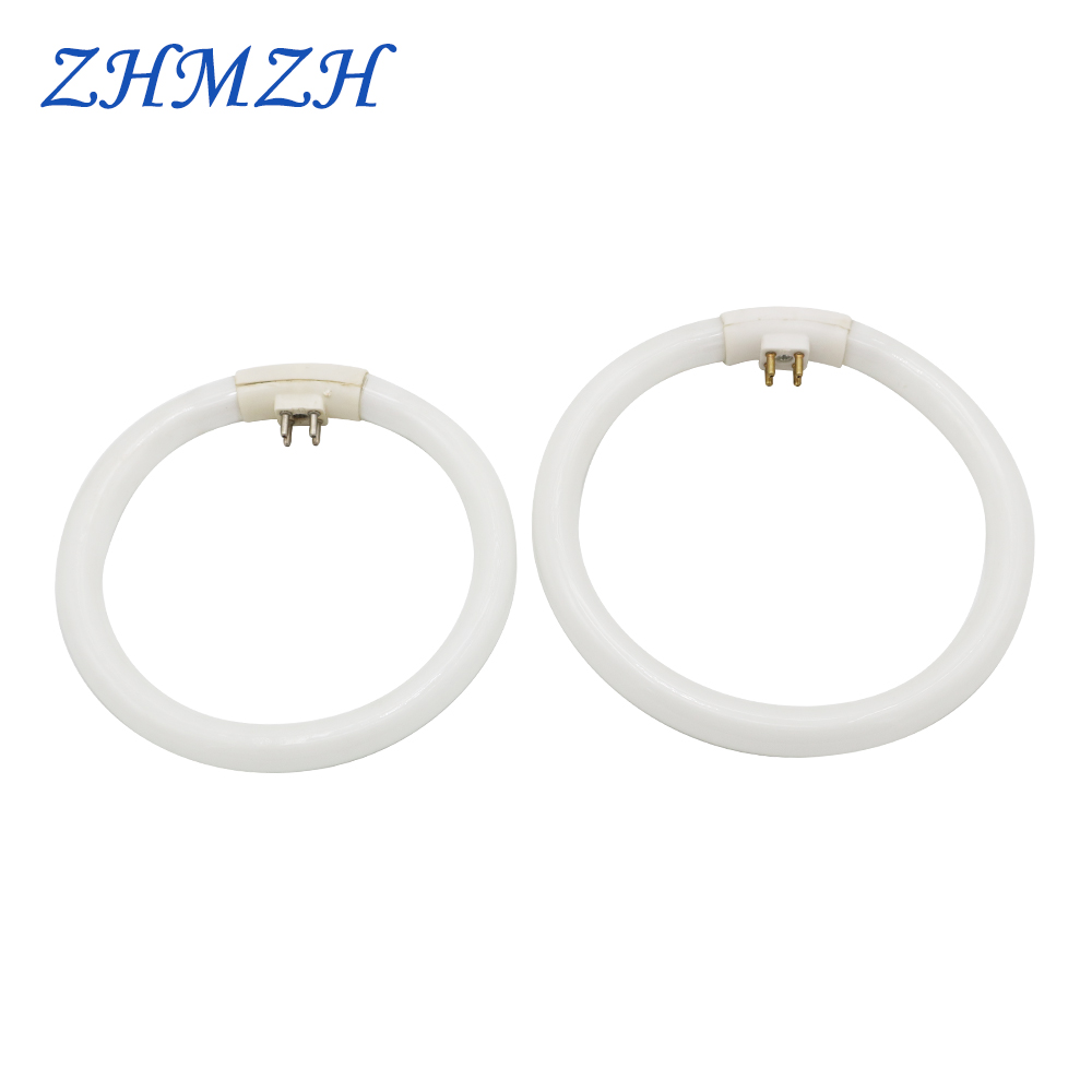 <font><b>T4</b></font> Annular <font><b>Tubes</b></font> 10W 12W 16W Tri-phosphor Light AC 220V Magnifying Glass Circular <font><b>Tube</b></font> G10q Fluorescent Lamp Ring Lights image