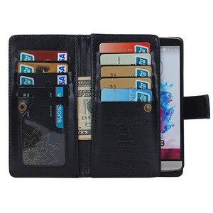 2 in 1 Detachable Leather Wallet Flip Cover Case for LG G4 G5 Case Cover For LG G3 D858 D859 D855 Card Holders & Photo Frame