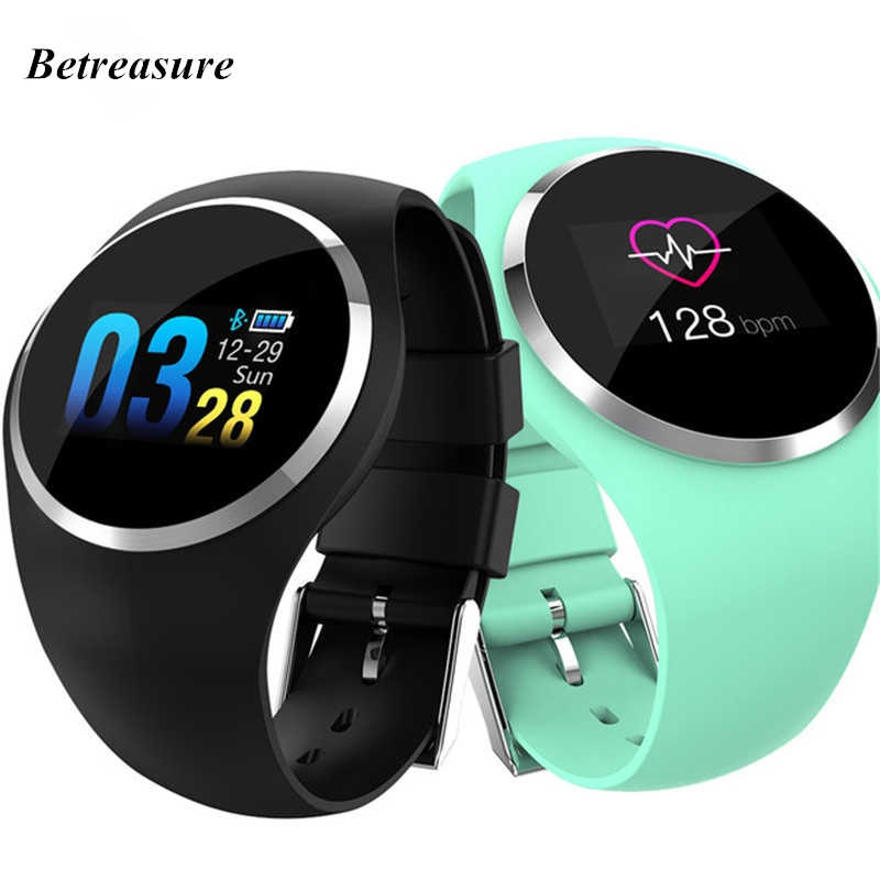 Betreasure Q1 Smart Watch Blood Pressure Heart Rate Monitor Smart Clock Fitness Watch Men Women Smartwatch for Android iOS betreasure bluetooth os5 1 android smartwatch heart rate monitor smart watch gps 3g wifi fitness men watch for android ios phone