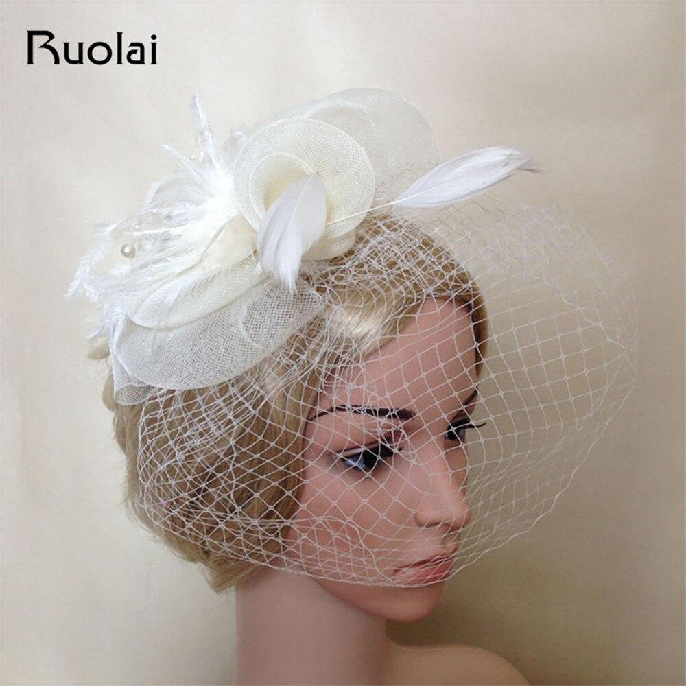 2016 estilo europeo fabuloso partido de las mujeres uso velo de novia - Accesorios de boda