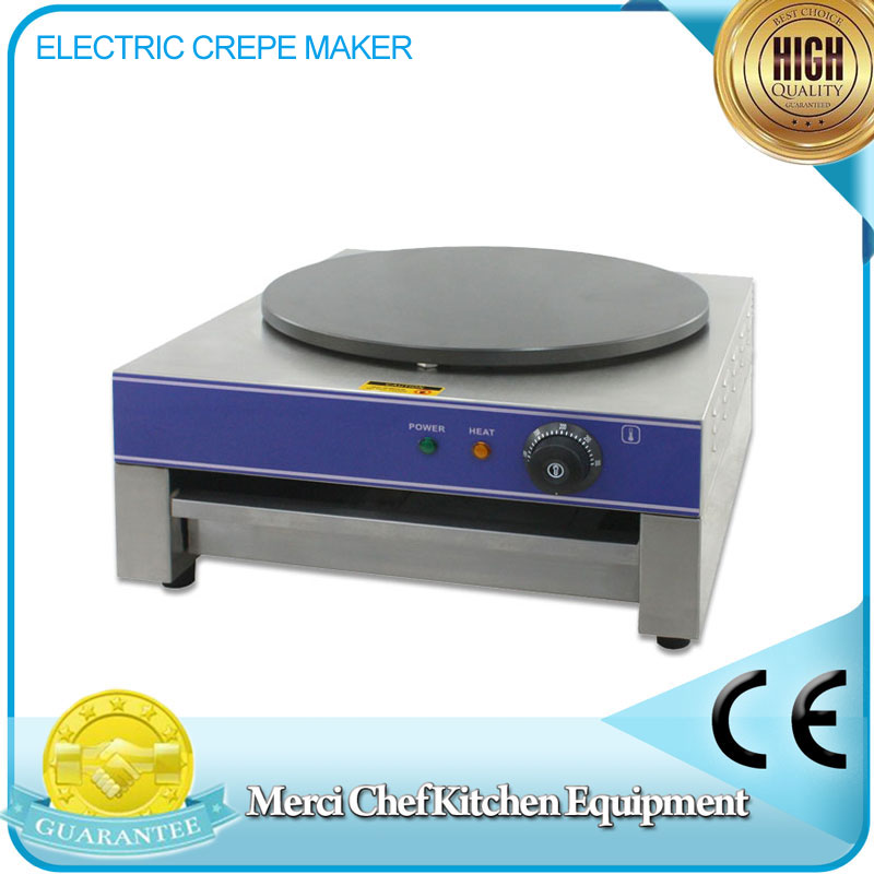 Food Machine Electric Crepe Maker/ Baking Crepe Machine Food Processing household and Commercial Machine fast food leisure fast food equipment stainless steel gas fryer 3l spanish churro maker machine