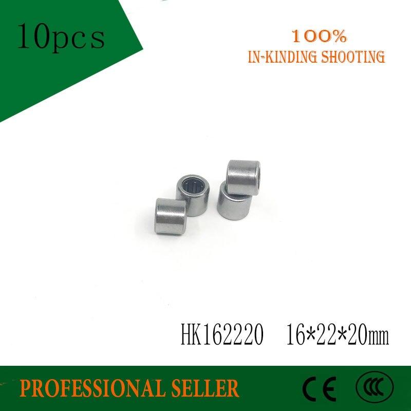 Игольчатый роликовый подшипник HK162220 HK1620 77941/20, 10 шт., 16x22x20 мм