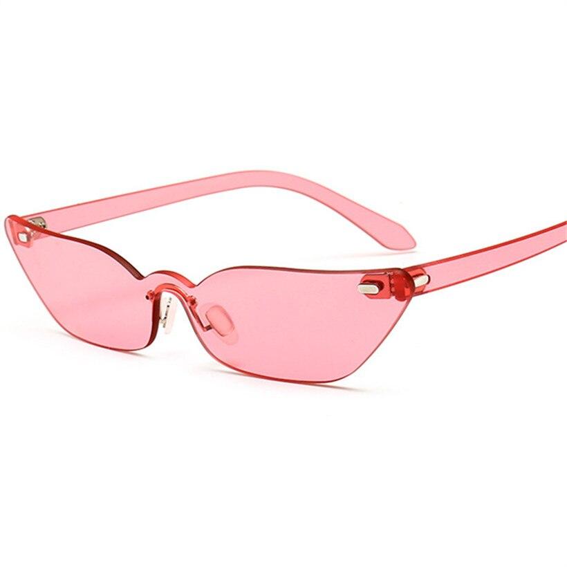 7fb2532238f7f5 Tanie NYWOOH Vintage Cat Eye Okulary Przeciwsłoneczne Damskie Marka  Projektant Oprawek Okulary Retro Czerwony Okulary Wąski Okulary Cena.