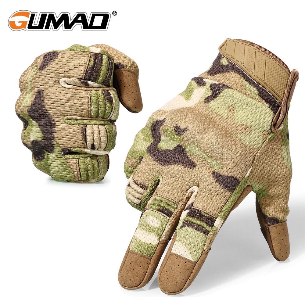 Touch Screen Multicam Camouflage Tactical Gloves Army Military Airsoft Outdoor Climbing Shooting Paintball Full Finger Gloves touch screen tactical motorcycle airsoft bicycle outdoor hard knuckle full finger gloves military army paintball combat gloves