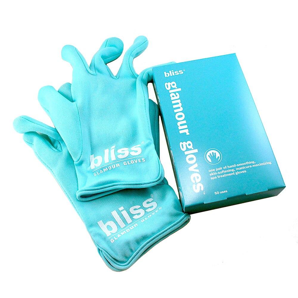 Bliss Glamour Gloves Hand-soothing Skin-softening Spa Treatment Gloves 1 Pair ( 50 Uses ) for Women цена