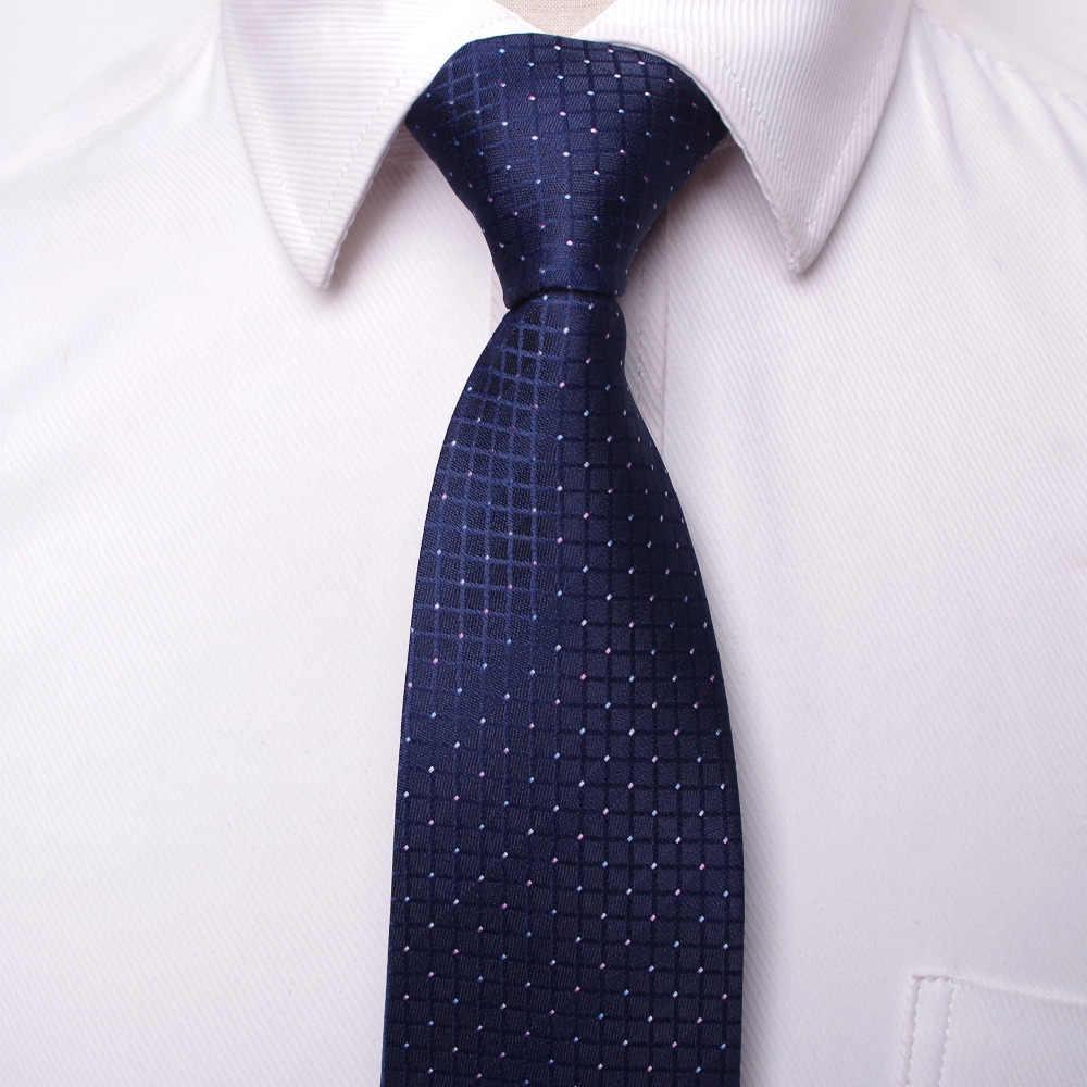 Clássico masculino negócios formal casamento gravata 8cm listra pescoço gravata moda camisa vestido acessórios