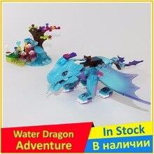 The Water Dragon Adventure 41172 Building Block Model Educational Toys Children BELA 10500 compatible Elves Brick Figure