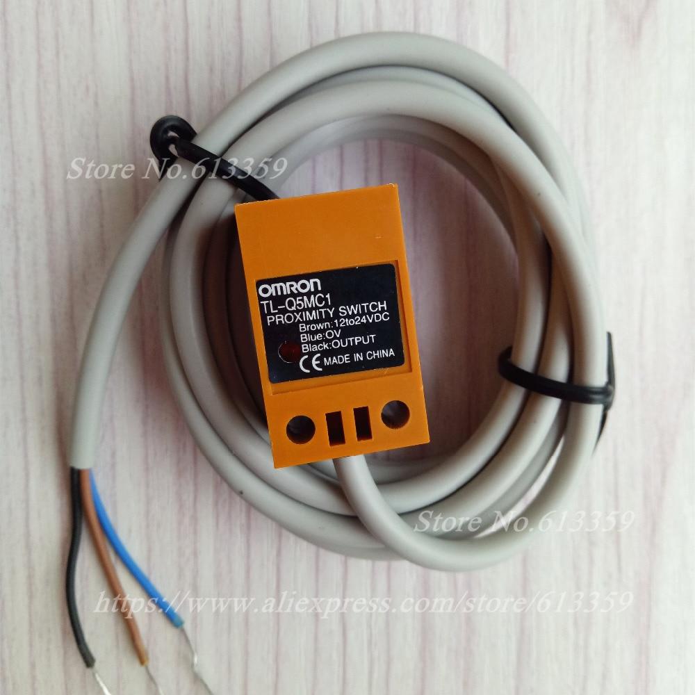 hight resolution of 10 pcs tl q5mc1 tl q5mc2 npn no nc omron proximity switch inductive sensor
