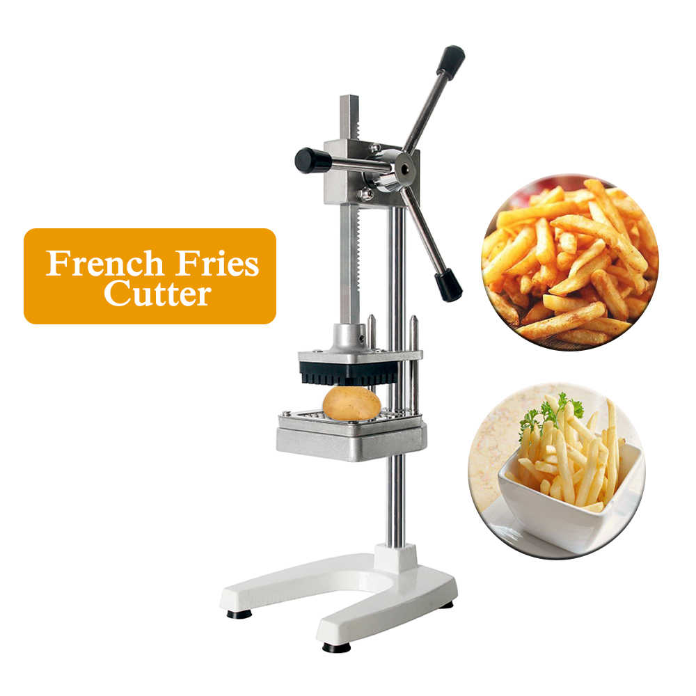 Manual French Fries Cutter Potato Carrot Taro Cucumber Vegetable Cutter 3 Bledes